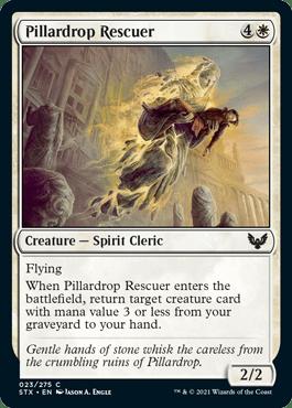 023 Pillardrop Rescuer Strixhaven Spoiler Card