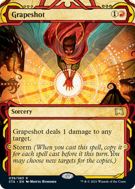 039 Grapeshot Mystical Archives Spoiler Card