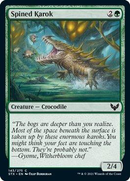143 Strixhaven Spoiler Card