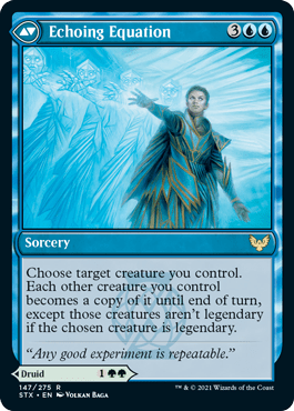 147B Echoing Equation Strixhaven Spoiler Card