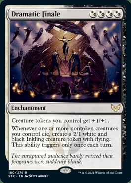 180 Dramatic Finale Strixhaven Spoiler Card