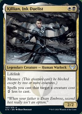 197 Killian, Ink Duelist Strixhaven Spoiler Card