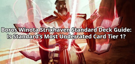 Boros Winota Strixhaven Standard Deck Guide: Is Standard's Most Underrated Card Tier 1?