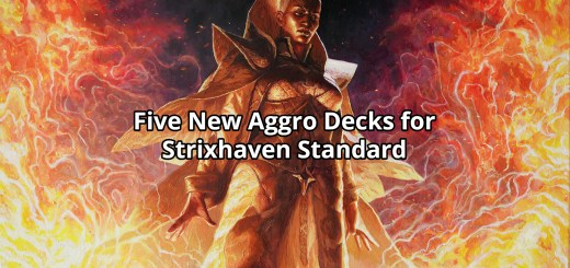 Five New Aggro Decks for Strixhaven Standard