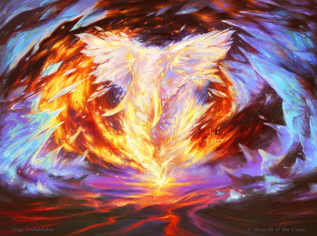 Magma Opus Art by Liiga Smilshkalne