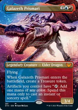 STX 281 Galazeth Prismari Borderless