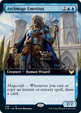 STX 295 Archmage Emeritus Extended Art