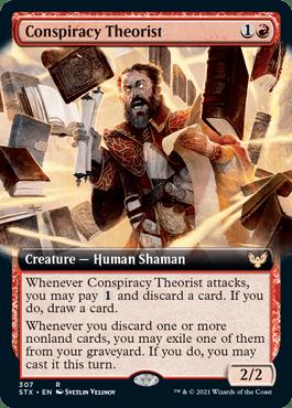 STX 307 Conspiracy Theorist Extended Art
