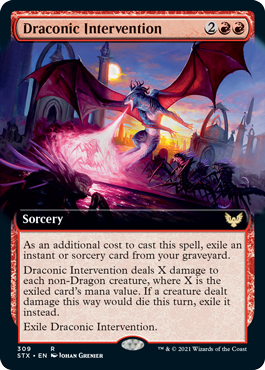 STX 309 Draconic Intervention Extended Art