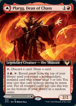 STX 328A Plargg, Dean of Chaos Extended Art