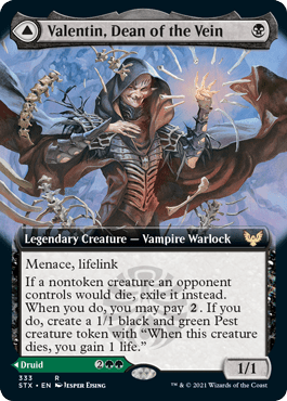 STX 333A Valentin, Dean of the Vein Extended Art