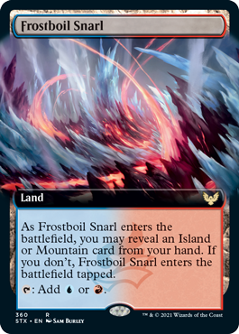 STX 360 Frostboil Snarl Extended Art
