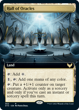STX 362 Hall of Oracles Extended Art