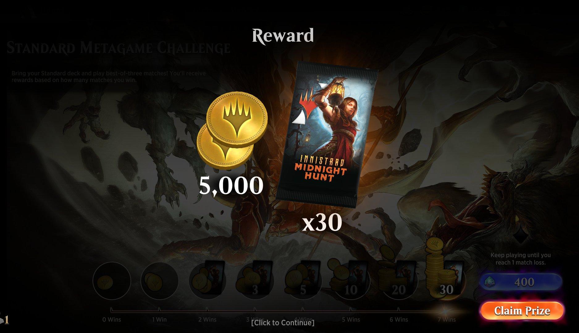 Standard Metagame Challenge - Innistrad Midnight Hunt