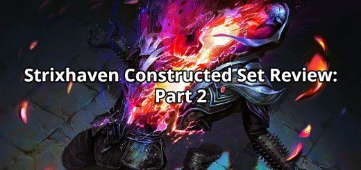 Strixhaven Constructed Set Review: Part 2