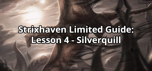 Strixhaven Limited Guide: Lesson 4 - Silverquill