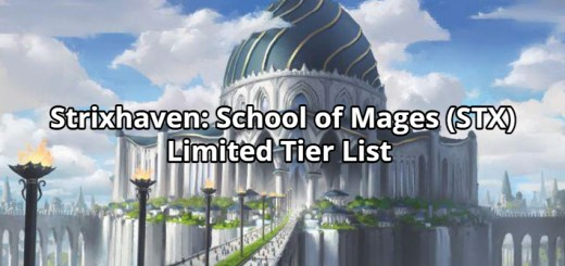 Strixhaven: School of Mages (STX) Limited Tier List