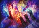 Grixis Conjuring (Lurrus) by - HowlingMines – Strixhaven Day 2