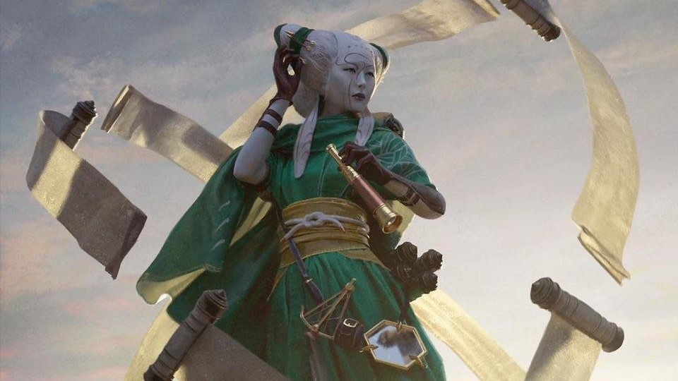 Tamiyo, Collector of Tales Art by Chase Stone