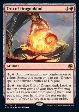 AFR 157 Orb of Dragonkind Main