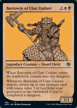 AFR 336 Barrowin of Clan Undurr Showcase