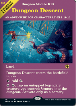 AFR 352 Dungeon Descent Showcase