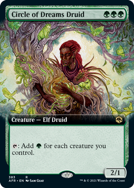 AFR 383 Circle of Dreams Druid Extended