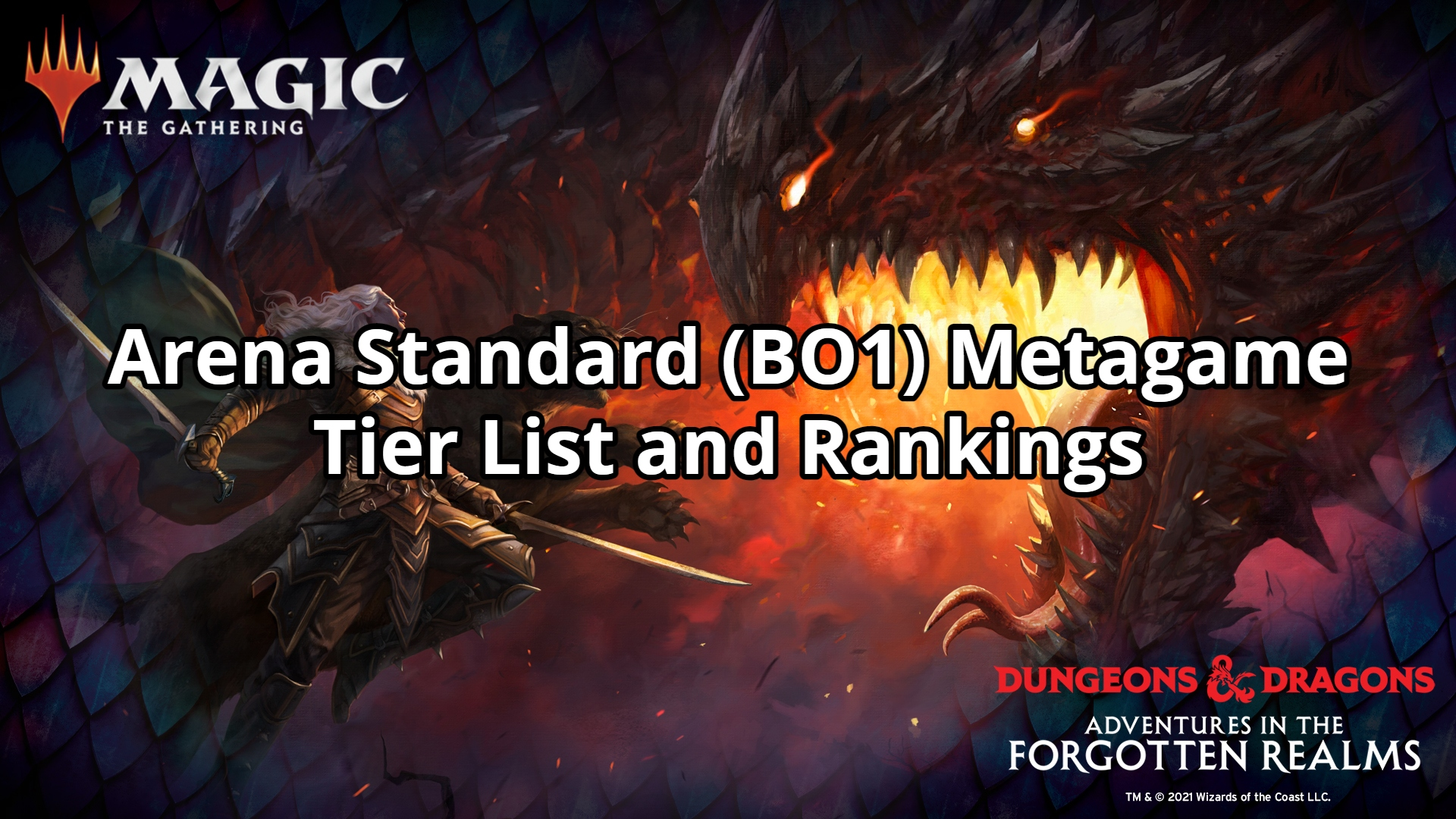 Arena Standard (BO1) Metagame Tier List and Rankings