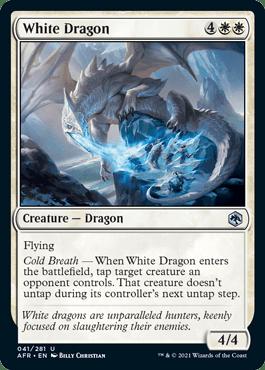 AFR 041 White Dragon Main
