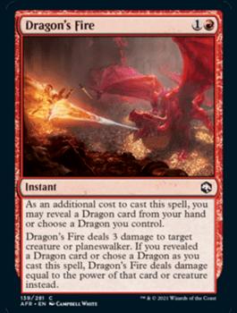 AFR 139 Dragon's Fire Main