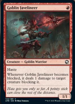 AFR 144 Goblin Javelineer Main