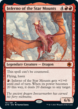 AFR 151 Inferno of the Star Mounts Main