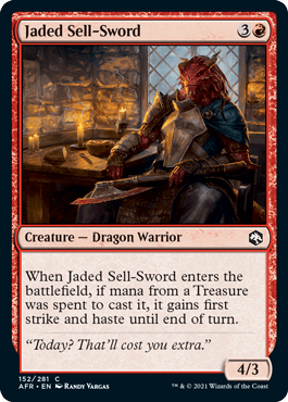 AFR 152 Jaded Sell-Sword Main