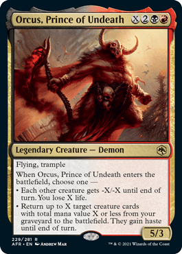 AFR 229 Orcus Prince of Undeath Main