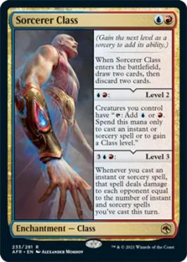 AFR 233 Sorcerer Class Main