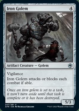 AFR 247 Iron Golem Main