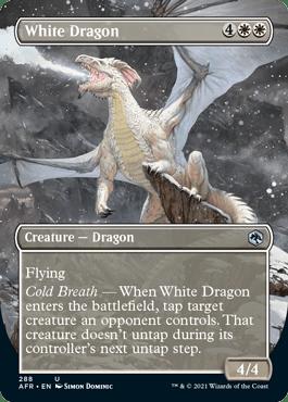 AFR 288 White Dragon Borderless