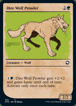 AFR 325 Dire Wolf Prowler Showcase