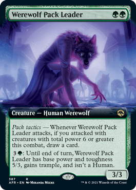 AFR 387 Werewolf Pack Leader Extended