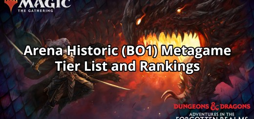 Arena Historic (BO1) Metagame Tier List and Rankings