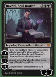 Davriel, Soul Broker J21 Main