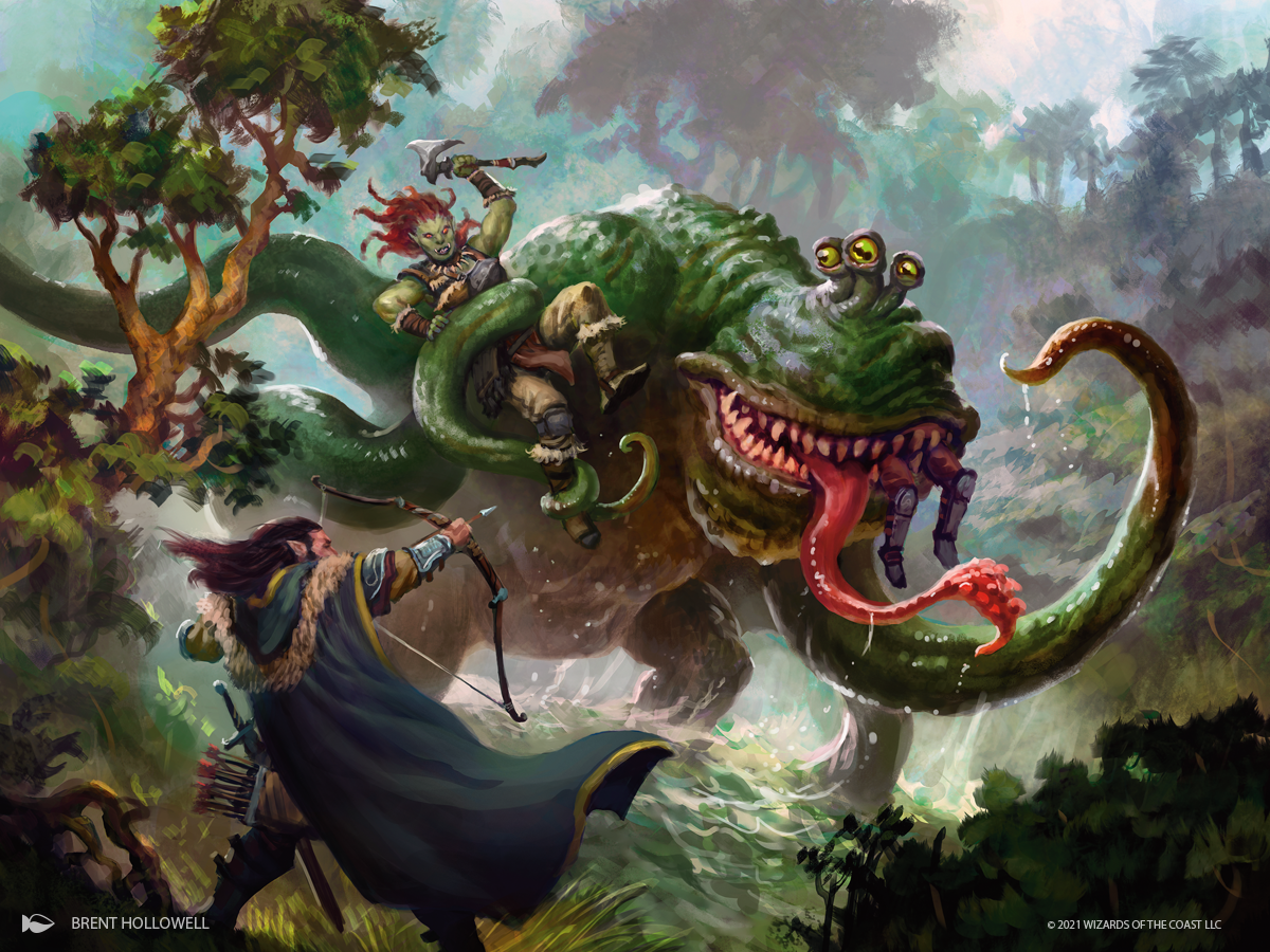 Froghemoth Art by Brent Hollowell