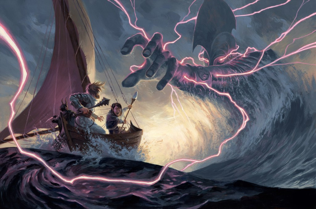 Hall of the Storm Giant Art by Alex Stone