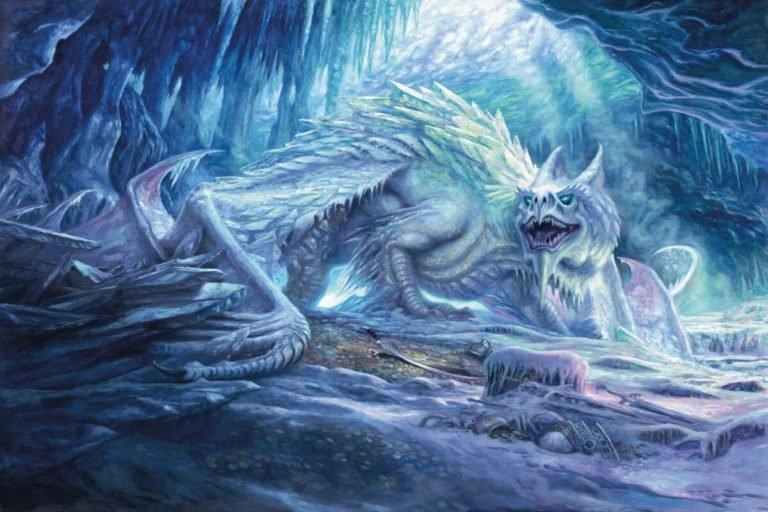 Icingdeath, Frost Tyrant Art by Matt Stewart