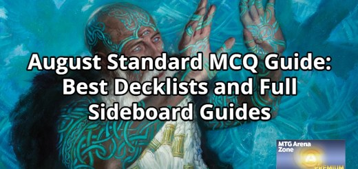 August Standard MCQ Guide_ Best Decklists and Full Sideboard Guides