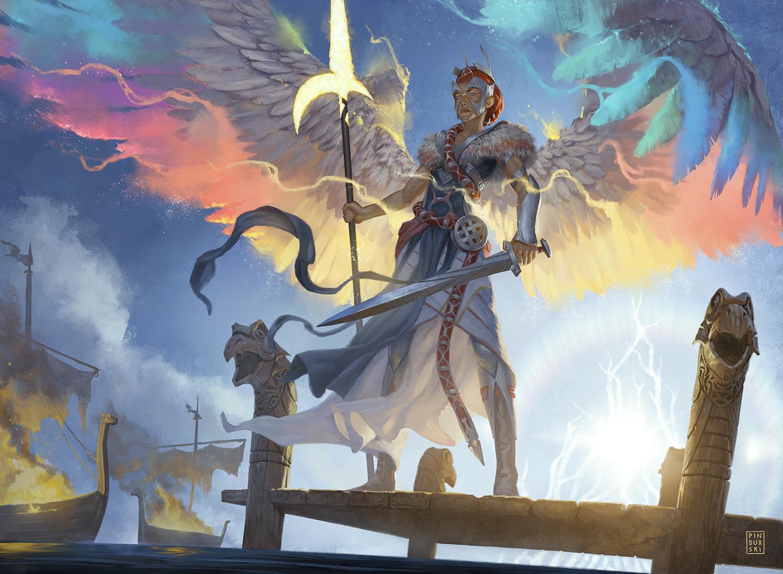 Glorious Protector Art by PINDURSKI