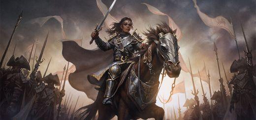 Adeline, Resplendent Cathar Art by Bryan Sola