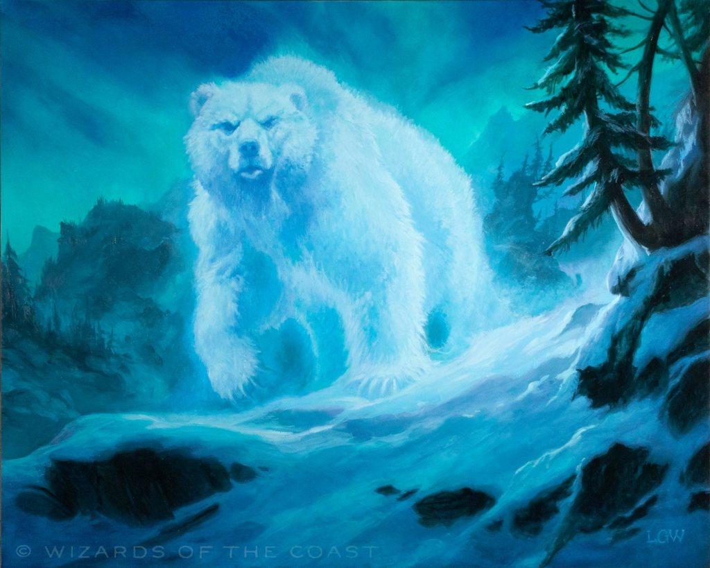 Spirit of the Aldergard Art by Lars Grant-West