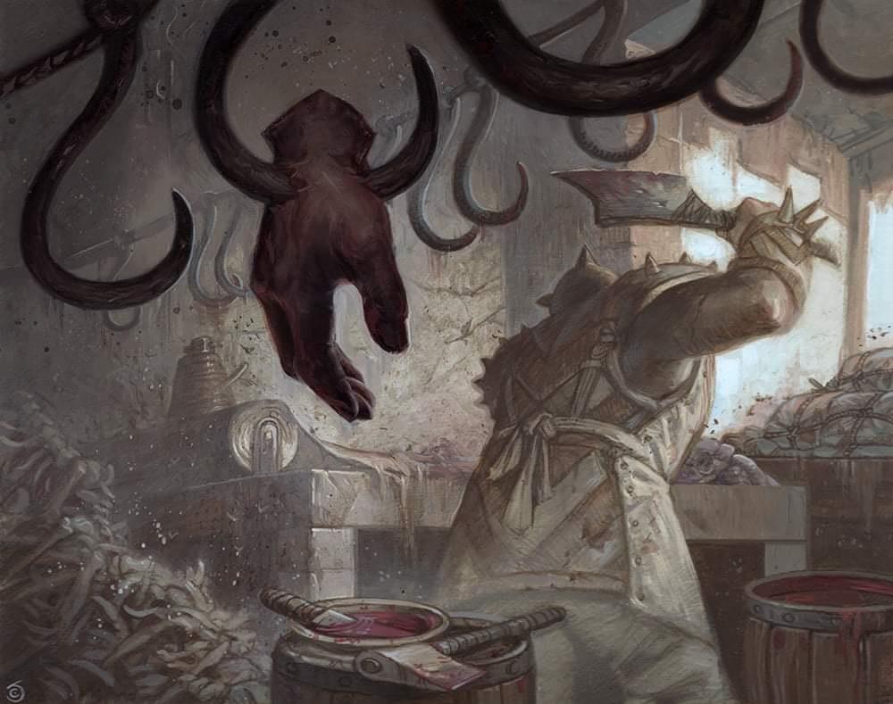 The Meathook Massacre Art by Chris Seaman