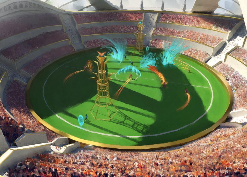 Strixhaven Stadium Art by Piotr Dura